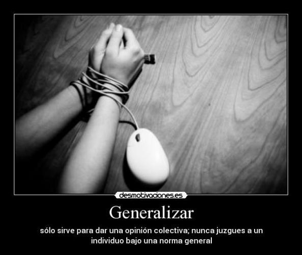 generalizar
